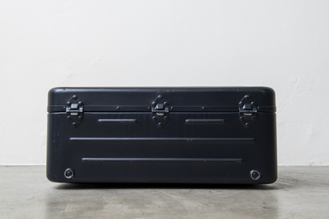FRENCH NAVY TRAVEL TRUNK