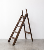 Wooden stepladder