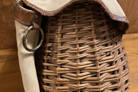 FrenchCanvas basket bag
