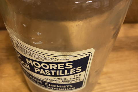 Dr Moores bottle
