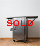 Metal table cabinet