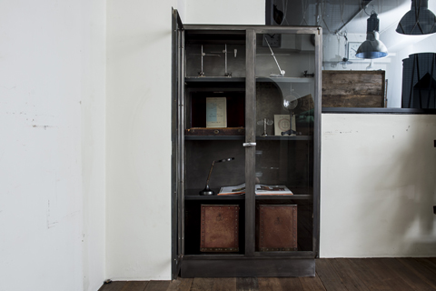 Metal Glass cabinet