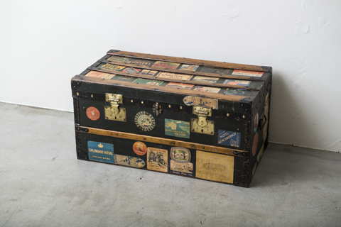 Travel Steamer Trunk